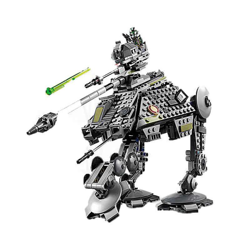 חדש כוכב מלחמת AT-AP ווקר Starwars Lepining בניין לבני צעצוע לילדים עם דמות