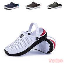 Sandales de plage antidérapantes unisexe,chaussures pour homme et femme, plates, type tongs, pantoufles,