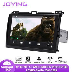 "Image 4 - 9 ""Android10รถวิทยุสำหรับToyota Land Cruiser Prado 120/Lexus GX470 2004 2009 GPS Carplay Android Auto DSP SPDIFซับวูฟเฟอร์DAB"