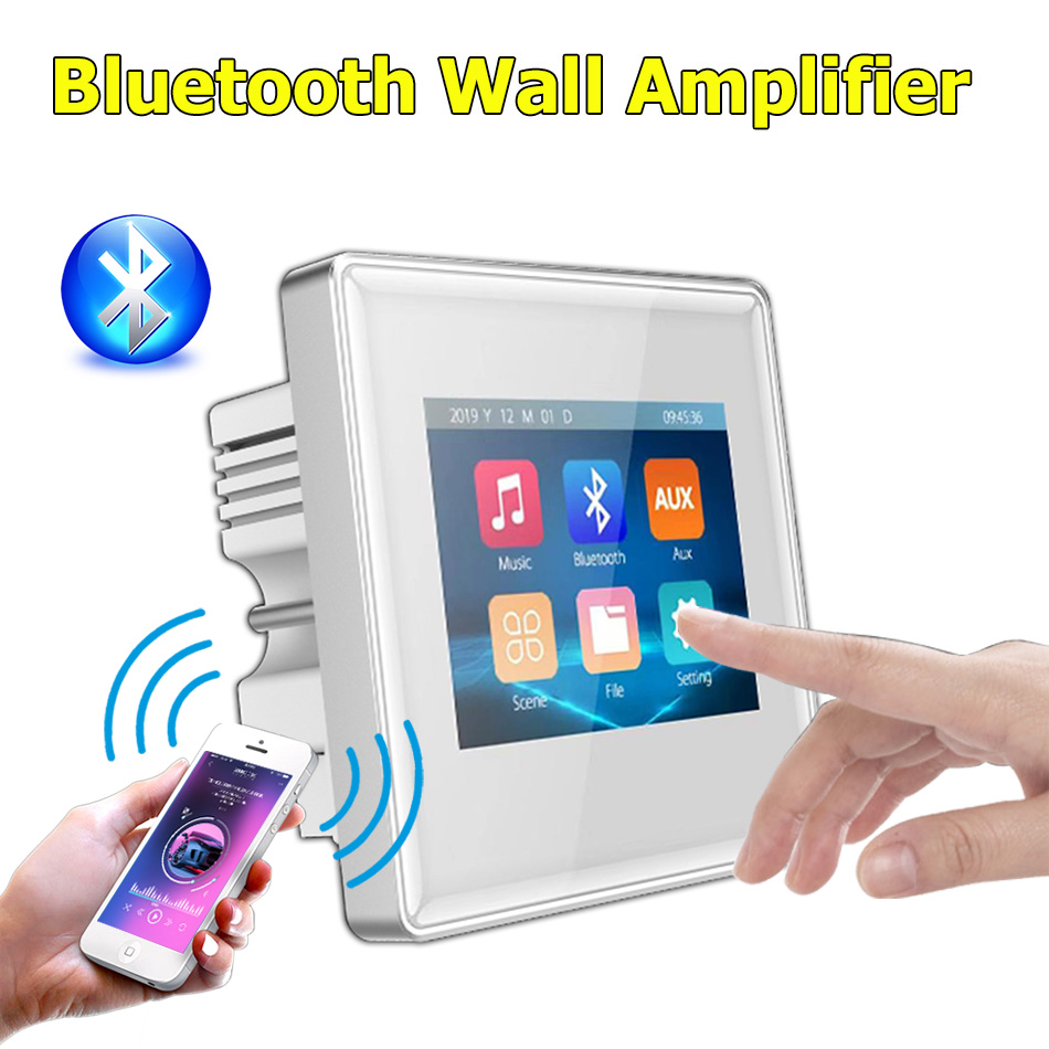 Smart home theater bathroom hotel tv mini bluetooth wall screen wireless <font><b>audio</b></font> music center sound <font><b>amplifier</b></font> System tablet cinema image