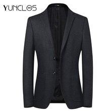 Пиджак мужской однотонный с карманами азиатского размера