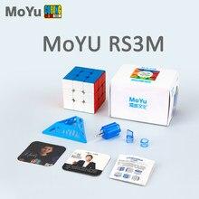 Moyu RS3M 2020 sihirli küp manyetik Moyu RS3 M 3x3x3 Cubo Magico CubingClassroom profesyonel bulmaca küpleri oyuncaklar çocuklar için hediye