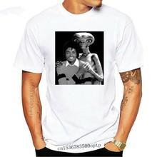 Michael Jackson avec E.T. T-Shirt rétro des années 80 pour hommes, Film Alien, Top Tee MJ(2)