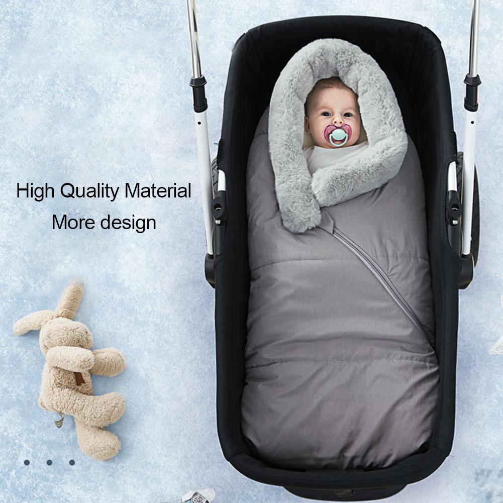Спальный мешок для малышей; зимний спальный мешок для кровати; детская коляска; плотный теплый конверт; ветрозащитные спальные мешки; спальный мешок для новорожденных