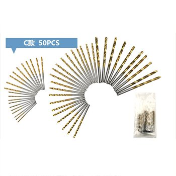 HSS Steel Cobalt Mini Twist Drill Bit set Straight Shank Hole Opener Power Drilling Punching Tools For DIY WoodWorking free delivery 0 8mm 3mm straight shank twist drill power tool metal drills woodworking tools drill bit set aluminum hss drill