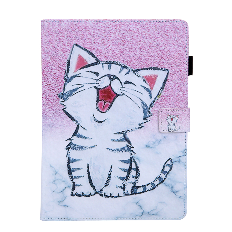 K Gold Tablet Cover For Apple IPad Air 4 10 9 inch 2020 Cartoon Leather Case For Ipad