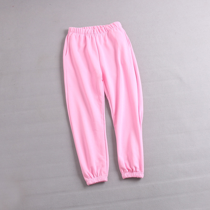 Other Ladies Regular to Plus Size Basic Jog//Lounge Pants Pink, Large