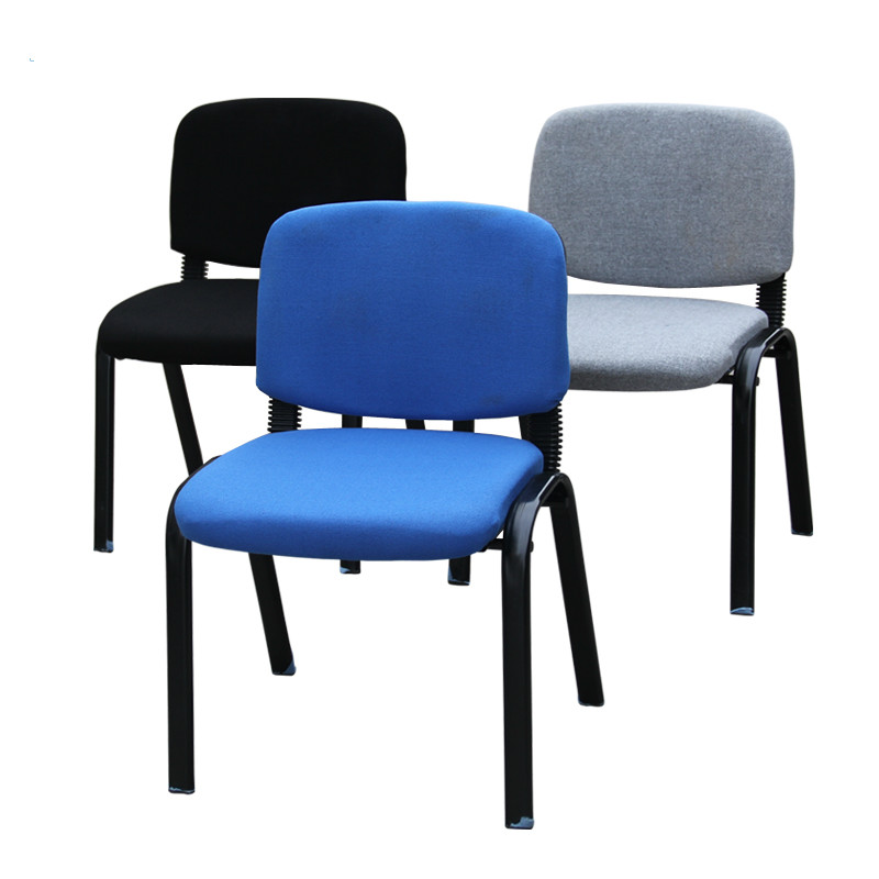 Office Computer Chair Conference Chair Blue Blue Employee Training Chair News Chair