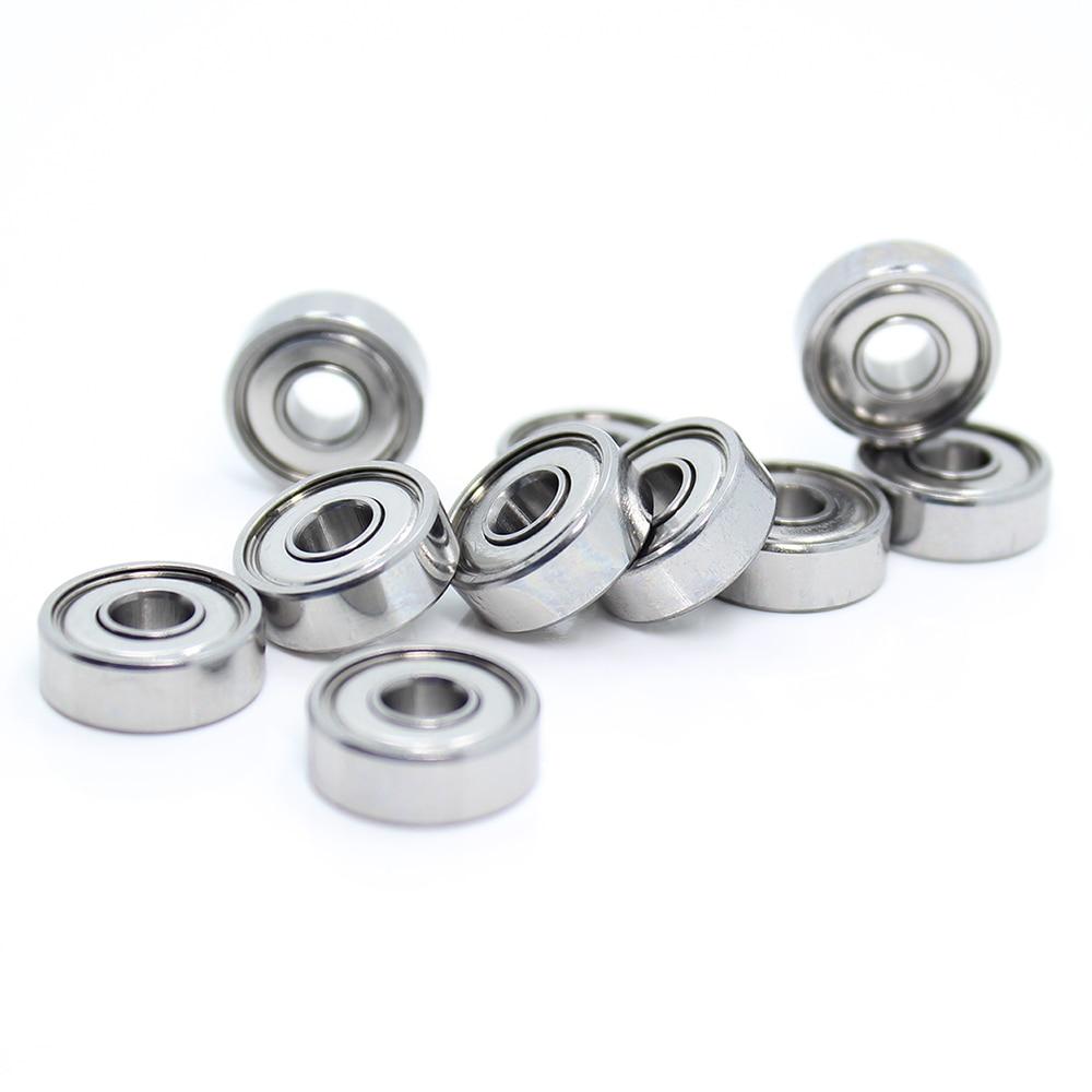 Metal Shielded Ball Bearing Bearings 605z 605ZZ 5x14x5 mm 4 PCS