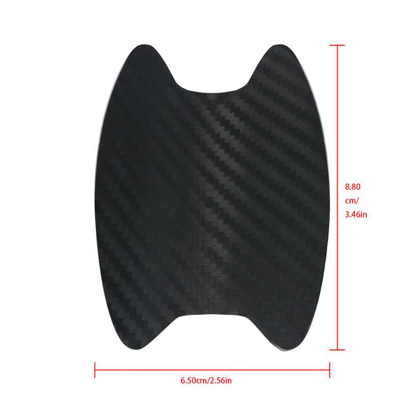 Klamka do drzwi samochodowych odporna na zarysowania membrana ochronna z włókna węglowego do opel insignia VW Golf 4 5 MK4 Peugeot 206 207 208 508 Touareg