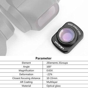 Image 5 - Ulanzi OP 5 0.65X obiektyw szerokokątny magnetyczny obiektyw szerokokątny do DJI OSMO kieszonkowy kamera kardanowa akcesoria