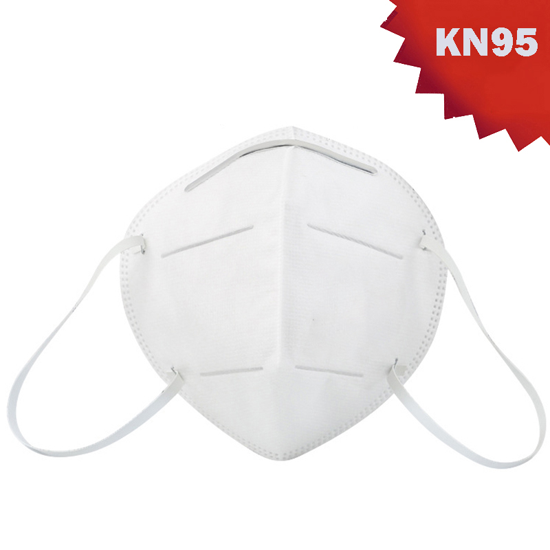 KN95 Respirator Disposable Face Mouth Mask Dust-proof Breathable PM2.5 Meltblown Cloth Mask Outdoor Protective Masks In Stock