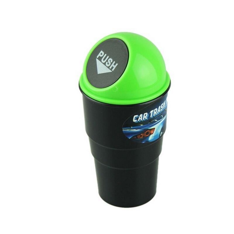 Top Fashion Multi-color Creative Car trash Can Car Mini Trash Can Multi-purpose Bucket Car Trash Can Wholesale Dropshipping CSV 3