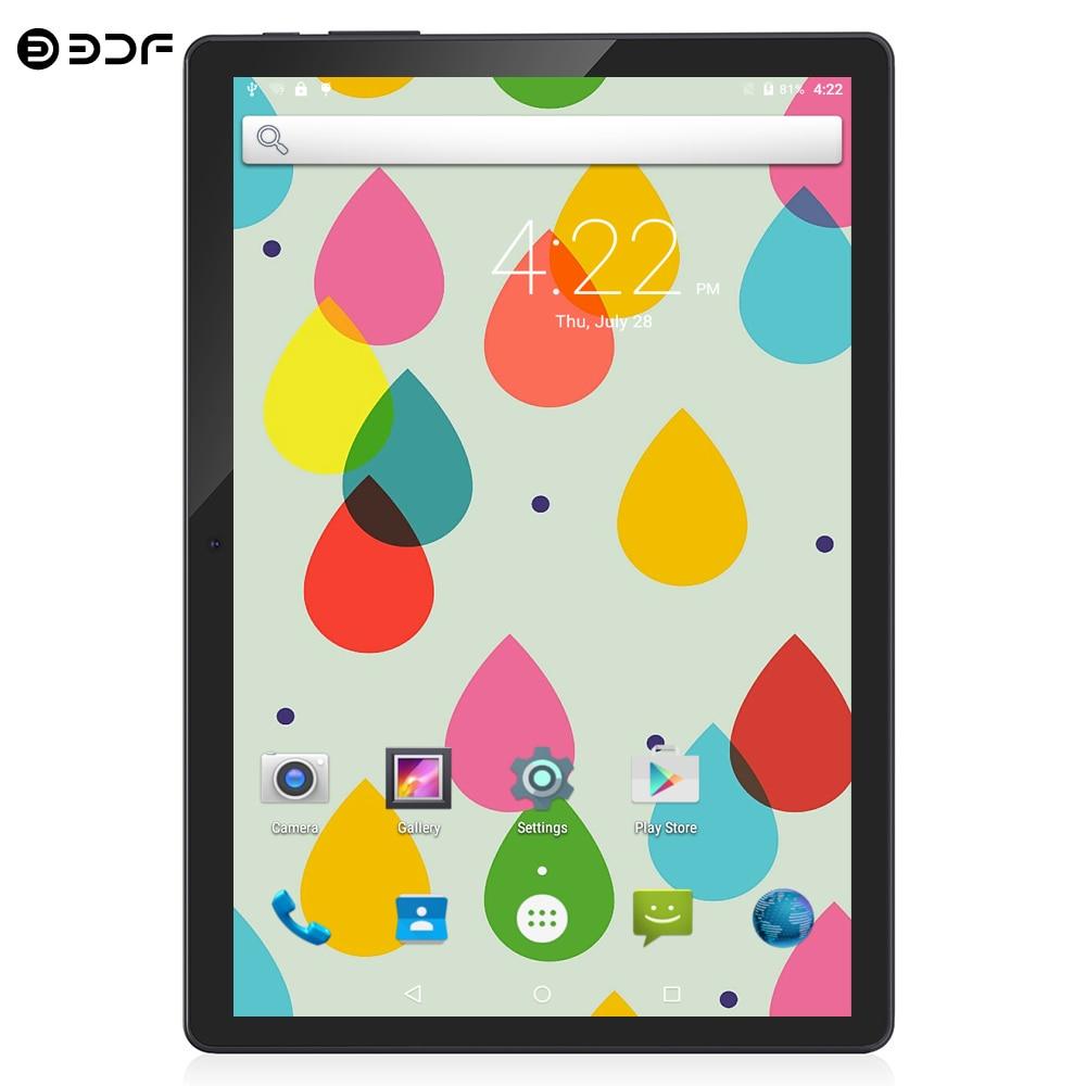 BDF 10 Inch Android 7.0 Tablet Pc 4/Quad Core 1280*800 IPS 1GB/32GB Tab 3G Phone Dual SIM Card 5.0MP Dual Camera Pc Tablets 10.1
