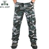 Мужские камуфляжные брюки, многофункциональные, с карманами, тактические, длинные брюки, мужские, s, повседневные, брюки-карго, военные, арме...