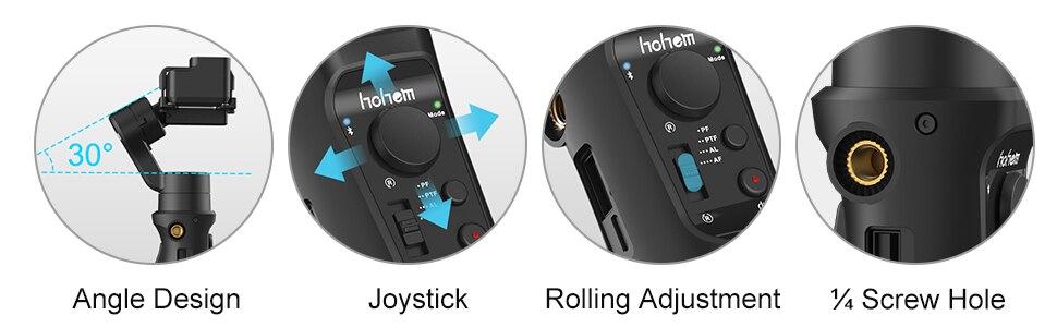 HOHEM iSteady Pro 2 Pro 3-Eixo Cardan
