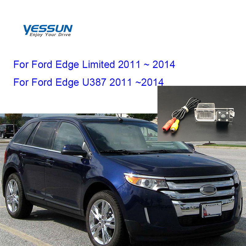 Yessun Rear View Camera For Ford Edge Limited U387 2011 2012 2013 2014 CCD Night Vision Parking Camera /license Plate Camera