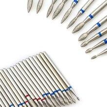 1pc Diamond Milling Cutters For Manicure Rotary Nail Drill Bit Eletric Pedicure Machine