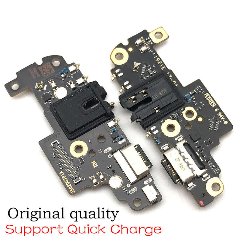 USB Charging Port Board Flex Cable Connector Parts For Xiaomi Redmi Note 8 Pro Microphone Module