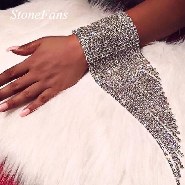 Длинные женские браслеты Stonefans