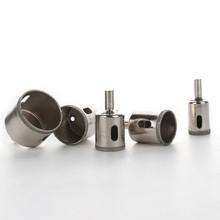 цена на 5pcs 20-42mm Diamond Hole Saw Drill Bit Set for Tile Glass Marble Granite Cutting Professional Metal ole Saw Drill Bit