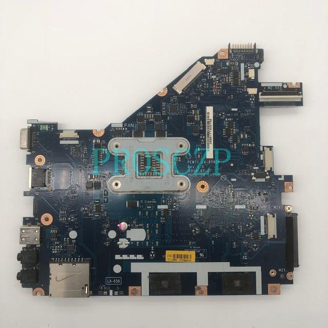 Alta qualidade para placa principal para gigabyte aspirata 5742z 5742 5733 5733z, placa mãe da computador portátil, máquina de LA 6582P hm55 ddr3 100% full testado testado Placa-mãe para notebook    -