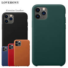 LOVERONY Genuine Leather Case For iPhone