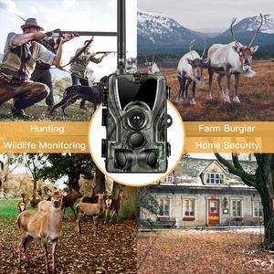 Image 5 - Hc801lte 4g trail camera mms sms e mail caça câmera 16mp 1080p 940nm ir led night vision selvagem câmera 0.3s gatilho foto armadilhas
