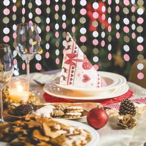 Image 2 - 11 רגליים גליטר זהב לבן ורוד גדול מעגל זר לחתונה אירועים מסיבת יום הולדת תינוק מקלחת קישוטי חדר ילדים דקור
