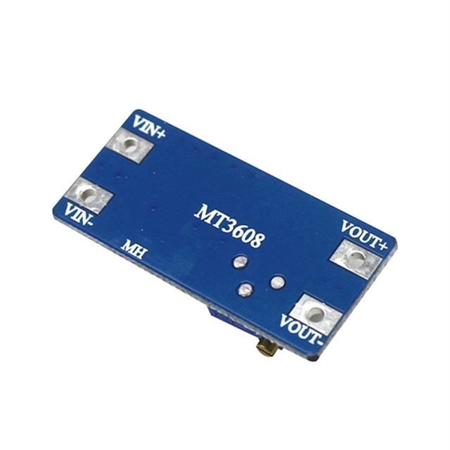 MT3608 DC-DC Step Up Converter Booster Power Supply Module Boost Step-up Board MAX output 28V 2A 1