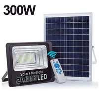 300W 1020 LEDs 170 leds Solar Licht Outdoor Wasserdicht Für Garten Pfad Straße Im Freien Landschaft Scheinwerfer Wand Flut Lampe