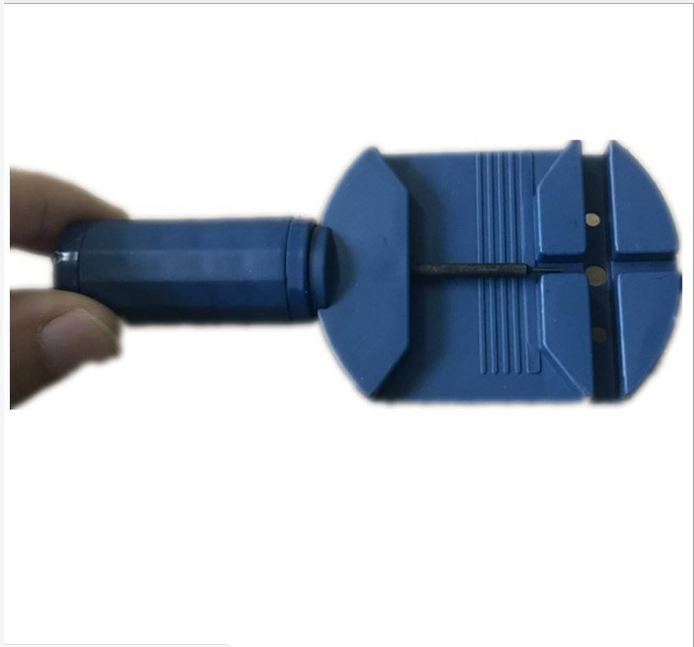 Blue Watch Band Link Pin Remover Strap Adjuster Opener Repair Watch Maker Tool For Watch Bnad Repair And Replacement