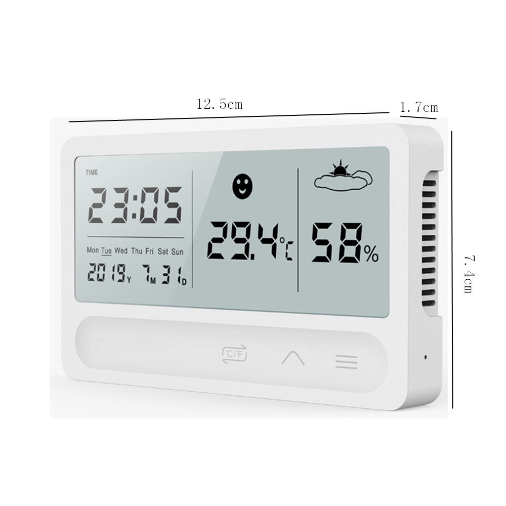 Image 5 - PANDUN simple smart home digital electronic temperature and  humidity meter household thermometer indoor dry hygrometerTemperature  Instruments