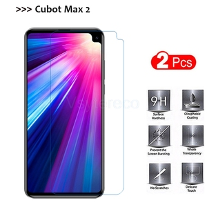 2PCS Tempered Glass for Cubot