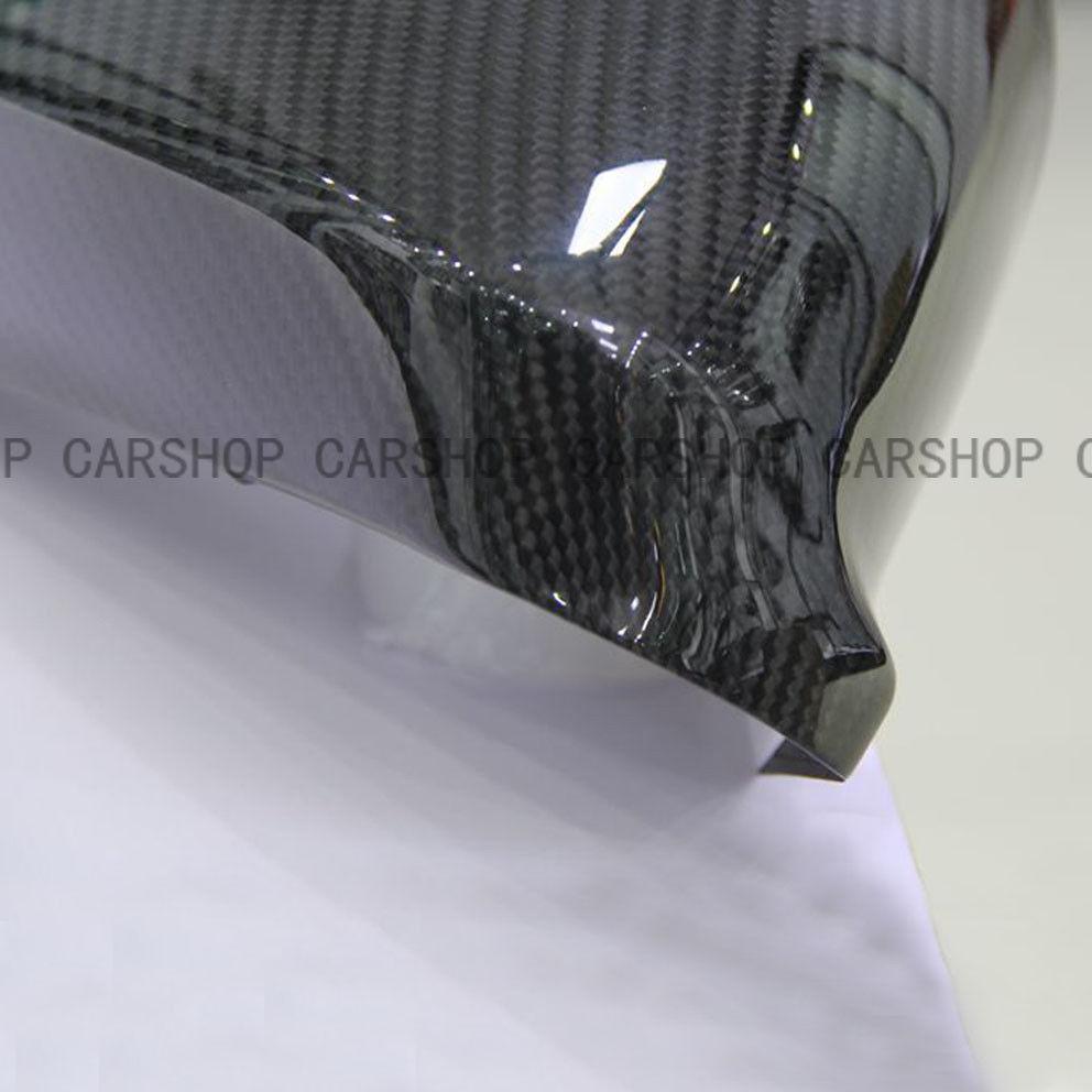 For Maserati Quattroporte Granturismo GT Real Carbon Fiber Car Mirror Cover Caps