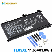 HONGHAY TE03XLแบตเตอรี่แล็ปท็อปสำหรับHP OMEN 15 TPN Q173 HSTNN UB7A 15 bc011TX 15 bc012TX 15 bc013TX 15 bc014TX 15 bc015TX AX017TX