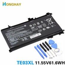 HONGHAY TE03XL dizüstü HP için batarya OMEN 15 TPN Q173 HSTNN UB7A 15 bc011TX 15 bc012TX 15 bc013TX 15 bc014TX 15 bc015TX AX017TX