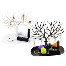 1PCS little Deer Jewelry Display Stand Tray Tree Holder Earrings Necklace Ring Pendant Bracelet Storage Racks
