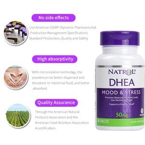 Image 5 - Natrol DHEA 50 mg Mood & Stress promotes balanced hormone levels that 60 tablets