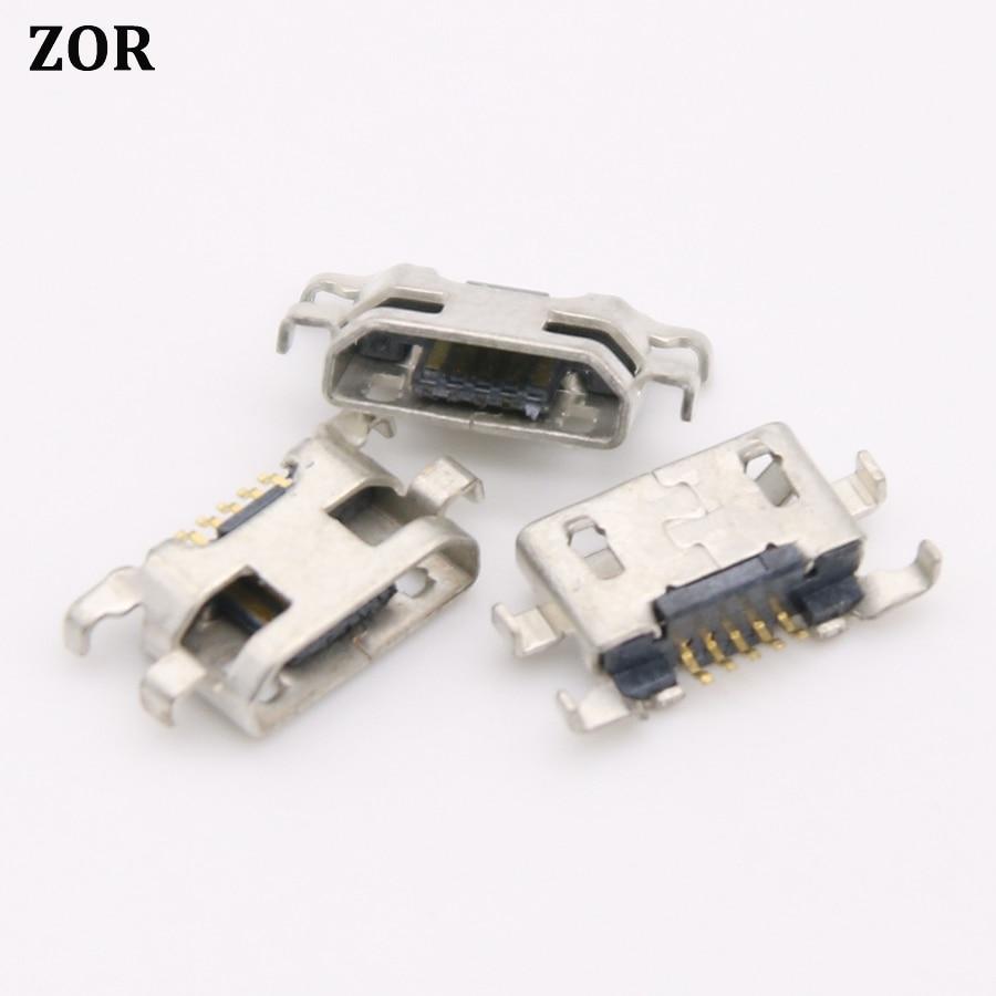 5 шт. для Alcatel One Touch 4015 4032 4033 5050X 5050Y 6012 6012D 6035R 7050Y Pop S9 5pin micro USB type-B разъем для зарядки