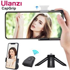 Image 2 - Беспроводной Bluetooth стабилизатор для смартфона Ulanzi CapGrip, ручка для селфи, стабилизатор для телефона, держатель, спуск затвора, винт 1/4