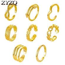Zyzq verão novo pé anel moda 8-piece abertura ajustável pé anel conjunto de jóias praia lotes por atacado a granel