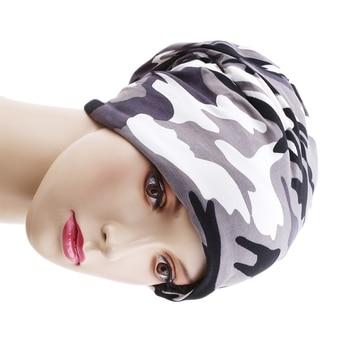 Lana Otoño Invierno verano sombrero hombres mujeres táctico militar camuflaje Beanie tejido algodón Skullie termal bufanda Camo Cap