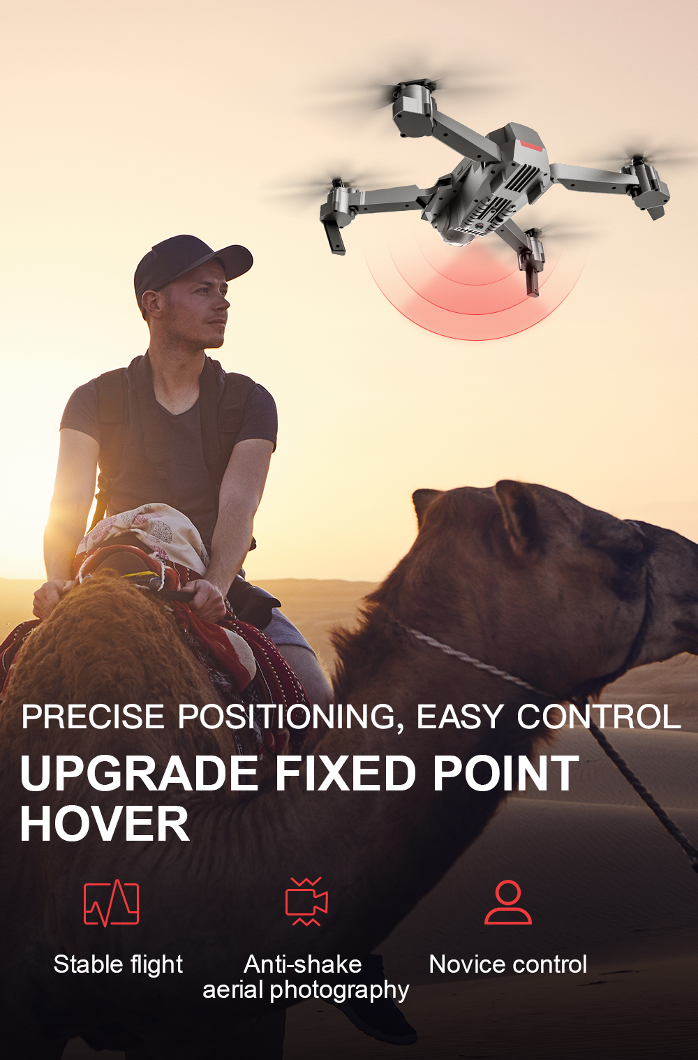 SG907 WIFI RC Quadcopter GPS Drone with 4K HD Dual Camera for Wide Angle Video Shooting 24
