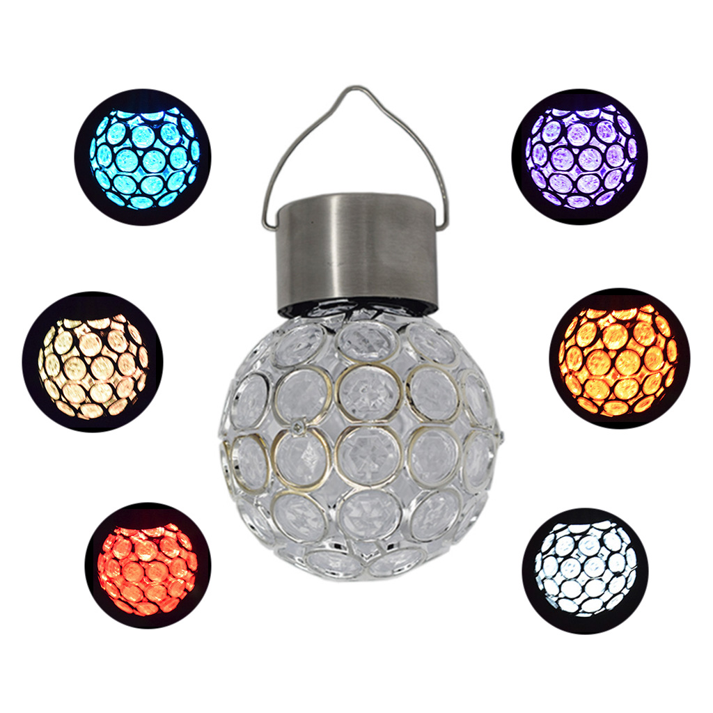 Solar Fairy Lights Waterproof Outdoor Garland Solar Power Lamp Christmas For Outdoor Garden LED Light Camping Hanging Globe Lamp