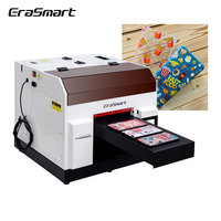 Erasmart Desktop Inkjet A4 Uv Led Flatbed Printer Uv Flatbed Printer