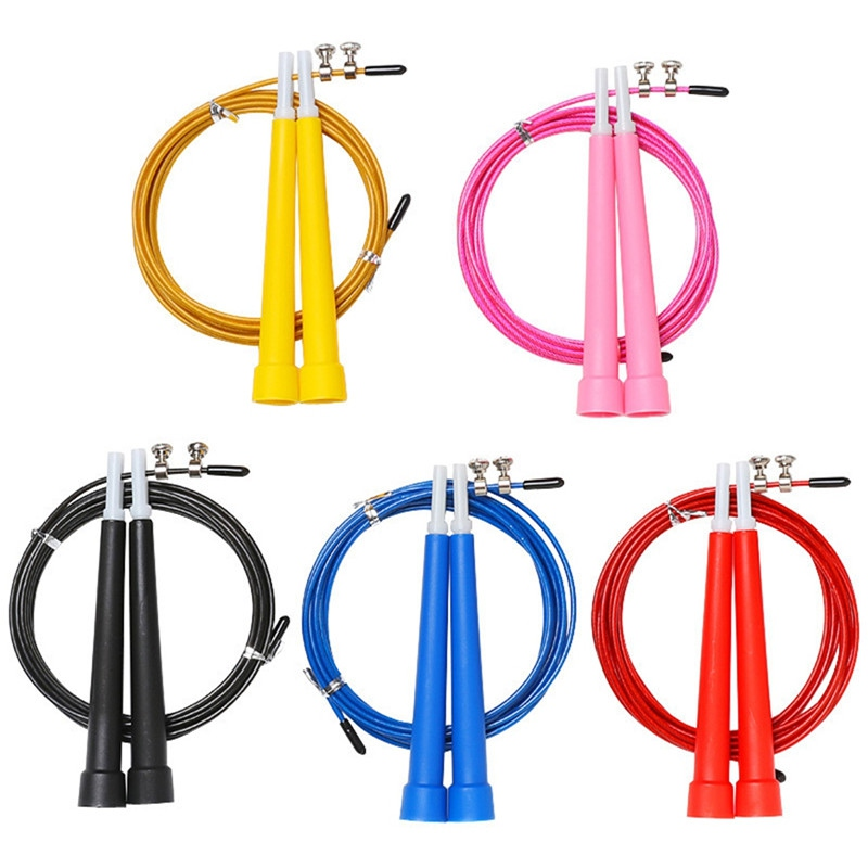 Fitness Jump Ropes Heavy Steel Wire Speed Jump Rope For Boxing Training Gym Exerciser Skipping Rope Sports Accessories