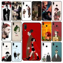 Babaite Leon Matilda Natalie Portman Movie Poster Phone Case for Xiaomi Redmi4X 6A S2 Go Redmi 5 5Plus Note4 Note5 7 Note6Pro(China)
