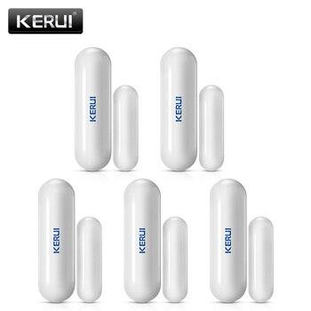D026 Wireless Home Window Door Security Magnet Sensor Detector Alarm Portable Smart Gap Detectors For KERUI System - discount item  23% OFF Security Alarm