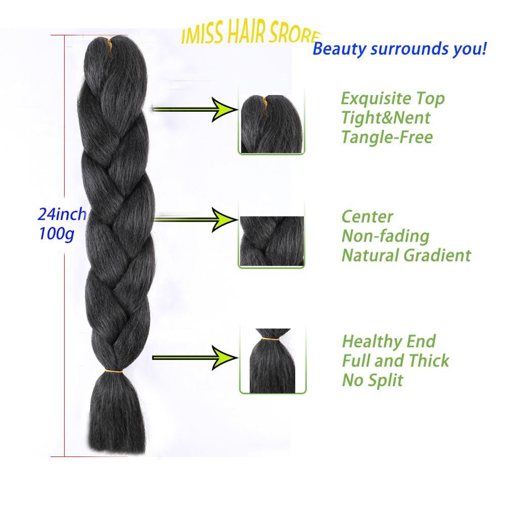 sintetico 1 tom 100g alta temperatura fibra croche tranca cabelo 34 cores 05
